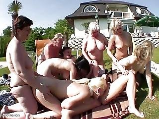 Lesbian Pissing Old N Young Group Sex