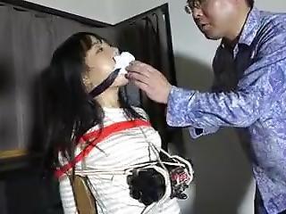 asiatique, bondage, japonaise