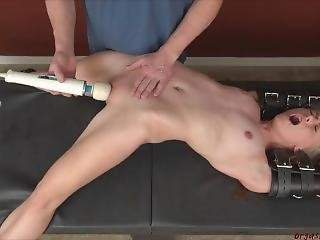 blonde, bondage, orgasme, star du porno, Ados, jouets, jeune