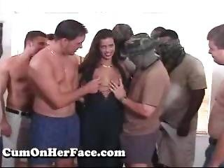 Cohf Sara Gangbang And Bukkake