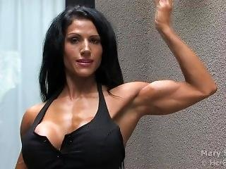 Mary Simmons Flexing 1