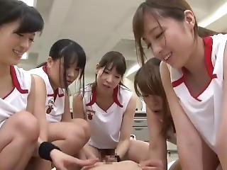 pallacanestro, femdom, fetish, gangbang, giapponese, Adolescente