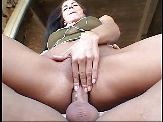 Sexy Brunette Takes Cock In Her Tight Ass And Gets Her Face Creamed?s=3