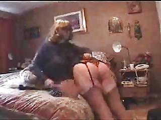 Latino woman having sex