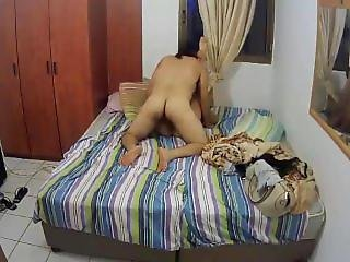Israeli Man Removes Condom And Creampie Inside A Call Girl