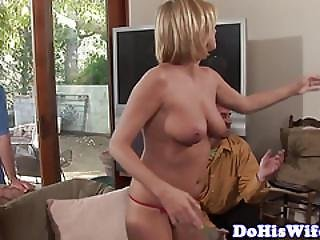 Cuckolding Euro Wife Banged By Hard Cock