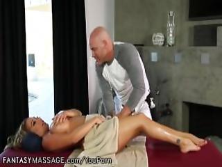 Fantasymassage Busty Milf Can T Ignore His Advances