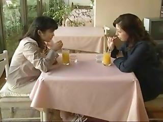 Japanese Lesbian Threesome [love Story 222]
