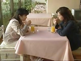Japanese Lesbian Threesome [love Story 222]