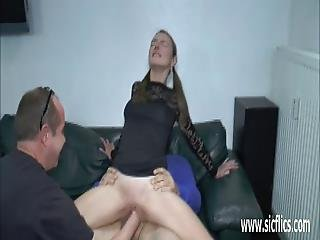Double Fisting And Fucking Teens Stretched Pussy