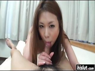 Hairy Japanese Babe Gets Cummed Inside
