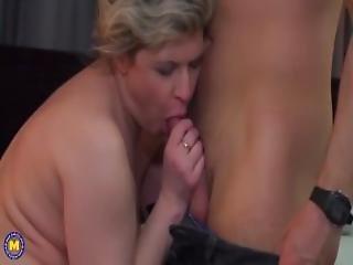 Kinky Housewife Doing Her Toyboy