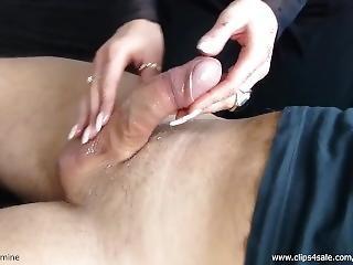Sensual Jasmine - Tease And Denial #1 - Cumshot - Amateur - Massage Handjob