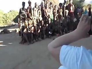 Japanese Tourist Goes To Africa