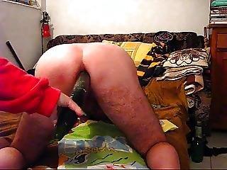 Mistress A. Anal Penetration Back View