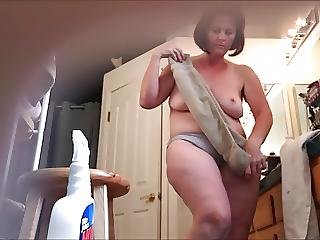 Milf Hidden Cam Getting Dressed