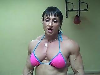 Tazzie Colomb Ripped Muscles