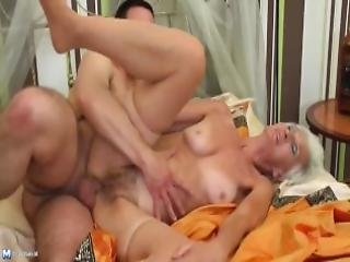 Frisky Mature Mothers Fuck Young Sons