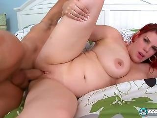 Tall Thick Redhead Gets Pounded