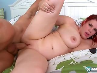 cul, gros cul, gros téton, pipe, éjaculation, hardcore, rousse, grande