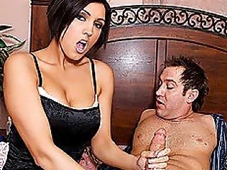 Hot Milf Dylan Ryder Eats Big Cock