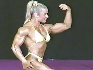 Fbb Angela Debatin @ Ms International 2001 On Stage Posing