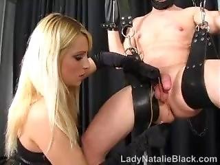 Clamped And Stretched - Lady Natalie Black