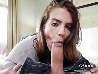 Beauty Gf Gets Bfs Best Friend Cock In The Ass
