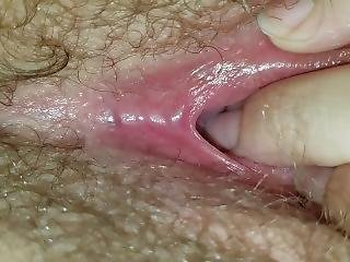 Showing Off My Cute Pink Pussy