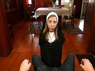 Nun Handjob Chastity