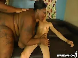 Busty Bbw Mz Diva Takes On 2 Cocks