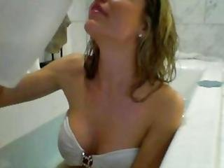 Bathtub Masturbation Amateur Beauty