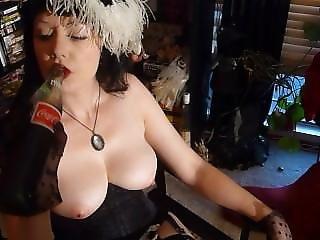 Amateur, Chick, Dikke Tiet, Fles, Porno Ster, Pov, Plagen, Vintage