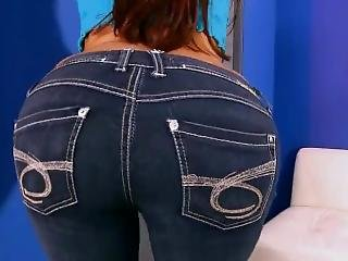 Tara Moves Her Delicious Ass All Round Well Molded In Her Jeans!
