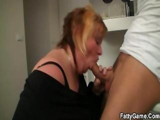 bbw, jouflue, trapue, levrette, grosse
