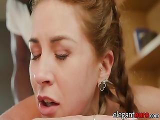 Teen Receives Massage And Bbc In Her Pussy And Tight Ass