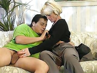 What Is The Name Of The German Mature Milf Granny