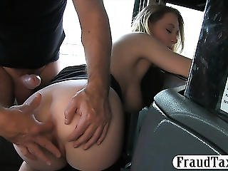 Large Natural Love Muffins Passenger Drilled Hard By Fraud Driver