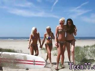 Public Bound Gangbang And Big Dick Destroys Teen And Teen Babe Amateur