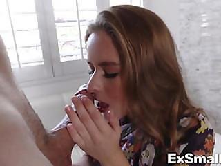 Lilly Ford Gives Blowjob And Fucking Large Cock