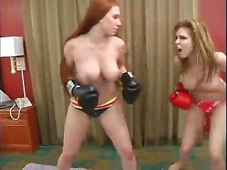 Candle Boxx Vs Titania Topless Boxing (mountain Mayhem Catfight)