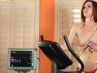 Intense Bike Workout Heartbeat