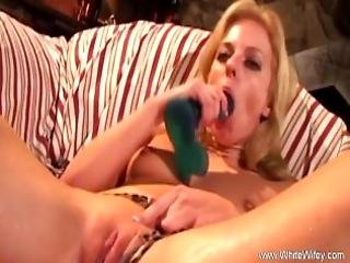 Toying Hard To Her Pussy Makes Her Crazy
