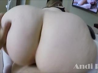 Curvy Big Titty Andi Ray Fucks A Man Almost Twice Her Age