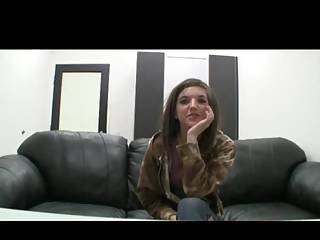 Chill Stoner Girl On Casting Couch Www.beeg18.com