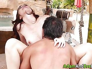 Babe Fucked By Schlong