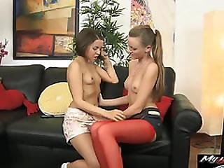 Jalace And Lili Get Some Good Pussy Action With A Horny Guy