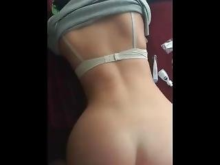 18 Year Old Teen With Awsome Ass Gets Fucked Doggystyle