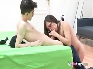 I Sell My Girlfriend To Jordi Their First Cuckold Scene