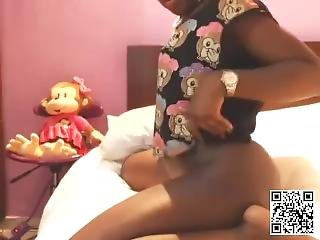 African Chick Rides Toy